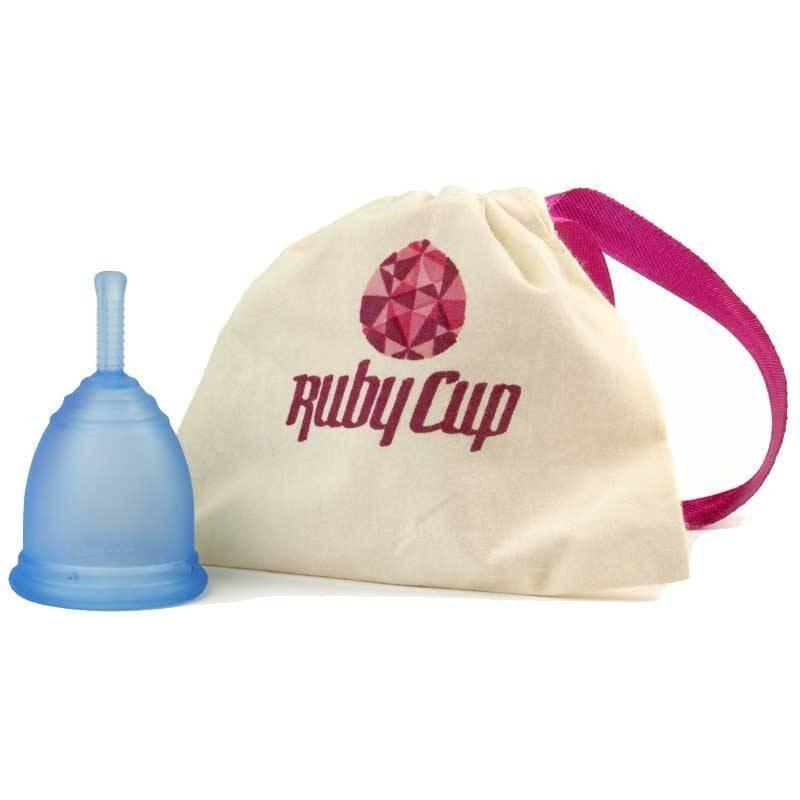 """Copa menstrual Rubycup """"Azul"""""""