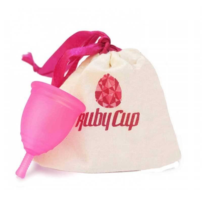 "Copa menstrual Rubycup ""Rosa"""