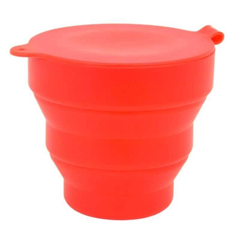 Esterilizador Plegable para Copa Menstrual Rojo