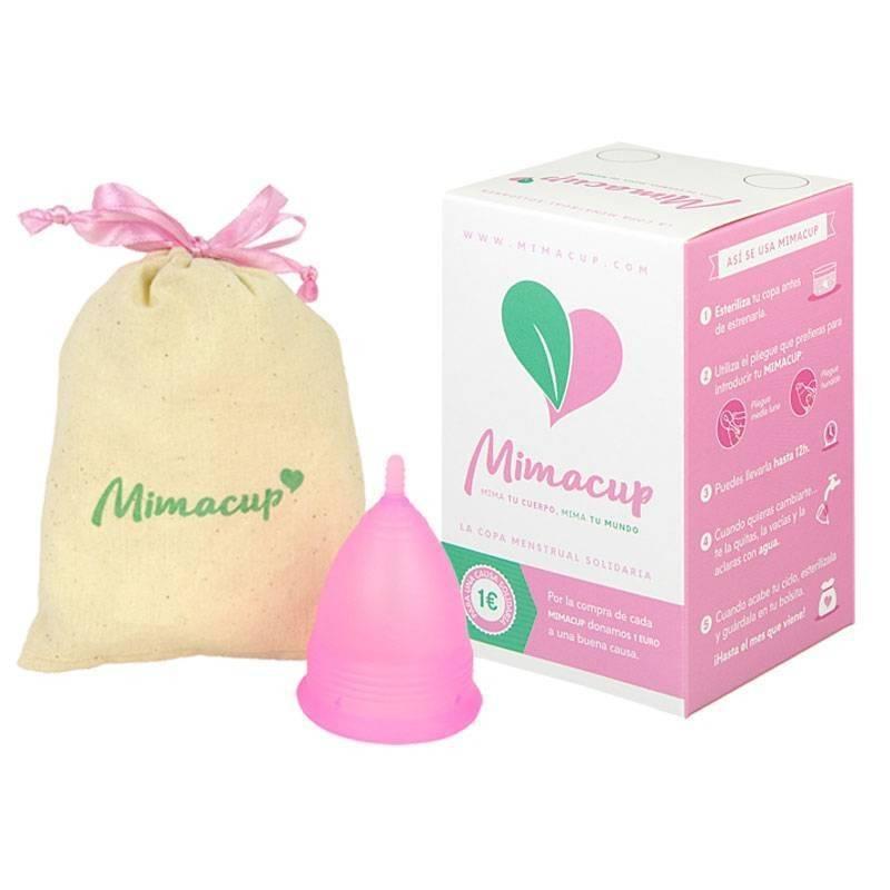 """Copa menstrual Mimacup """"Rosa"""""""
