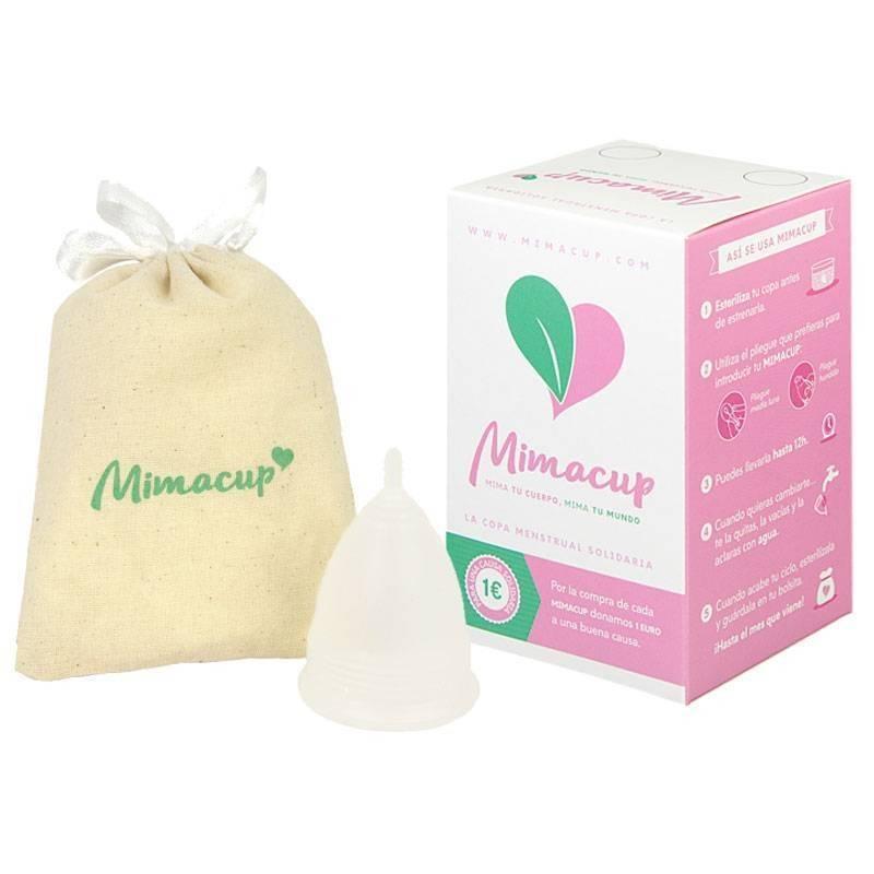 Copa menstrual Mimacup Transparente