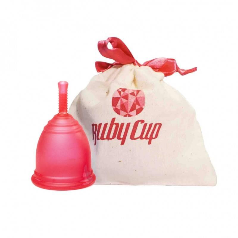 "Copa menstrual Rubycup ""Roja"""