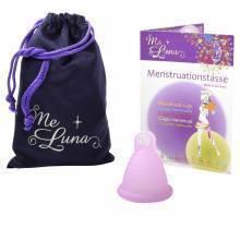 Copa menstrual MeLuna Shorty Rosa, Soft, Anillo