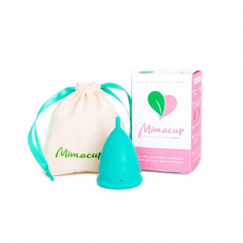 Copa menstrual Mimacup Turquesa