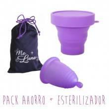 Pack Ahorro Meluna + Esterilizador Lila