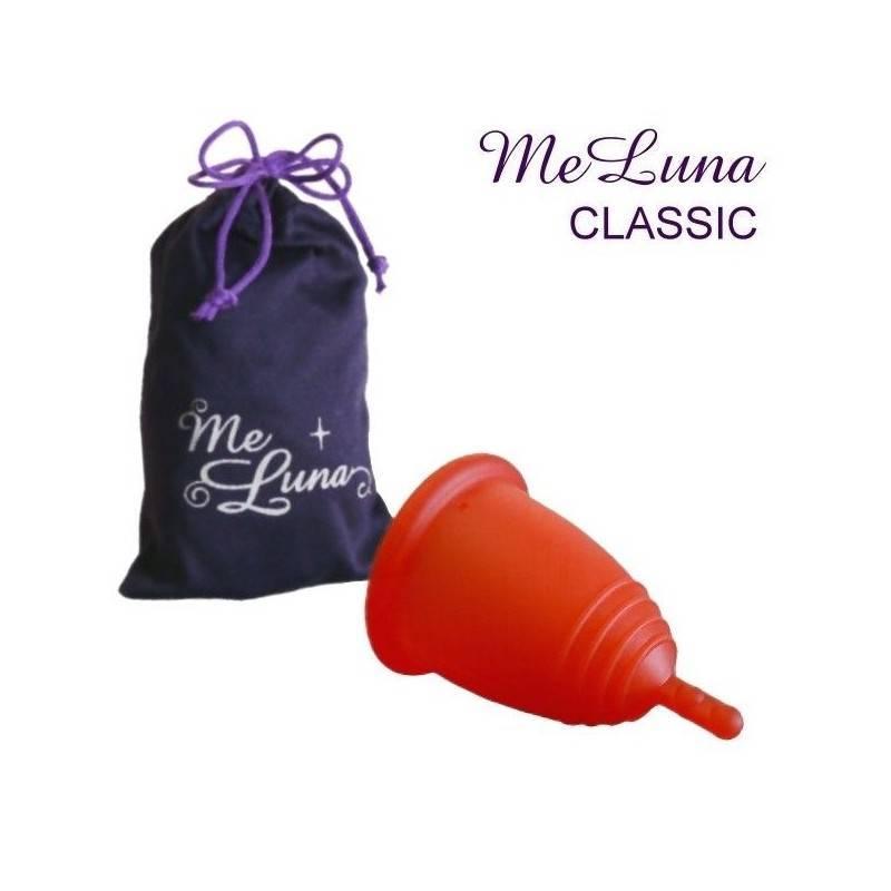 Copa menstrual MeLuna Roja, Classic, Pezón