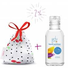 Pack Gel desinfectante + Bolsita