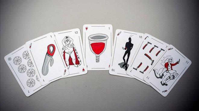 La baraja de cartas menstrual