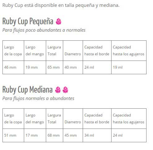 Tallas Rubycup